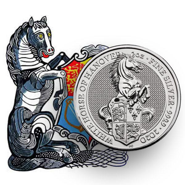 Biały Koń Hanoveru