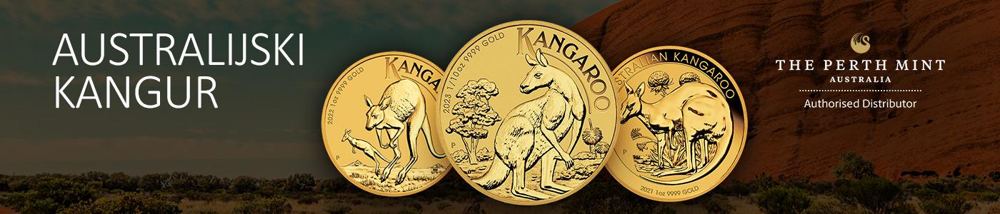 Australijski Kangur 1 uncja Złota 2021