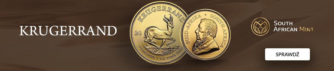 Krugerrand 1 uncja Złota 2021
