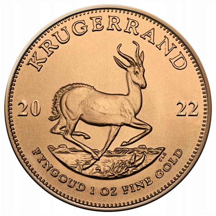 South African Gold Krugerrand  (Złoty Kruggerrand)