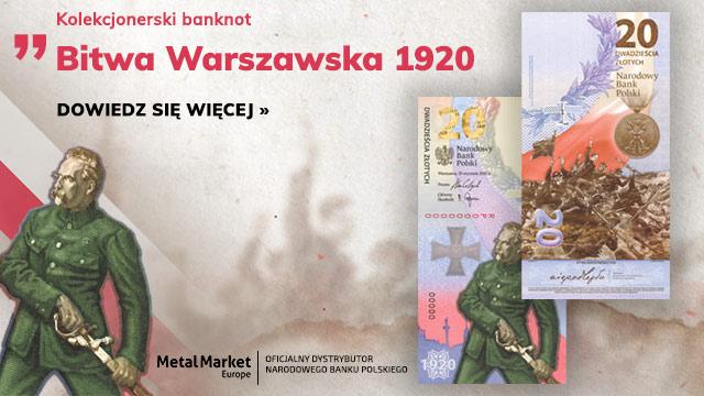 Banknot NBP Bitwa Warszawska 1920