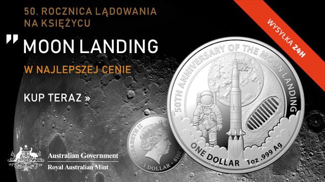 50. rocznica lądowania na Księżycu