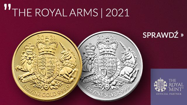 Królewskie Herby 1 uncja Srebra 2021