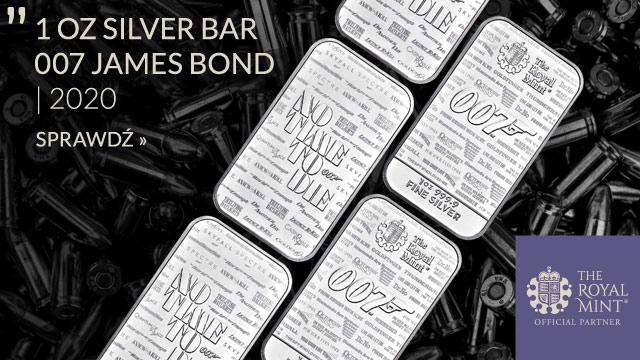 Sztabka  007 James Bond