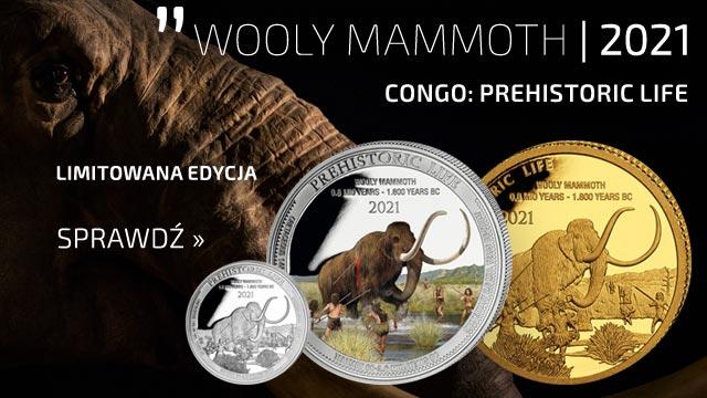 Congo: Prehistoric Life - Mamut 0.5 grama Złota 2021