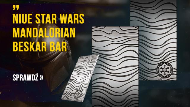 Niue: Star Wars Mandalorian Beskar