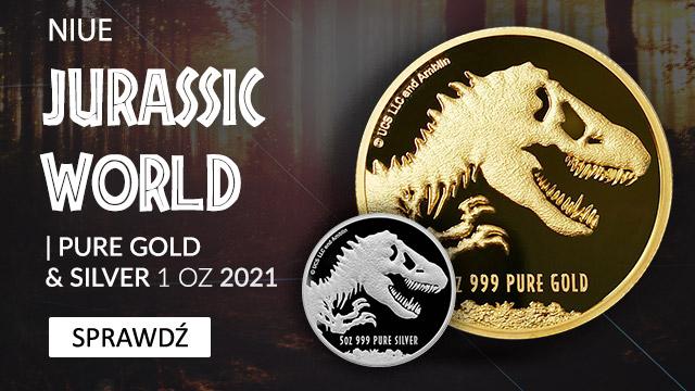 Niue Jurassic World 5 uncji Srebra 2021