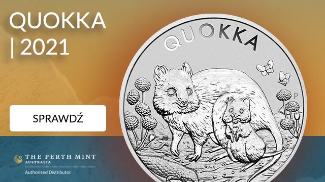 Australijski Kangur 2 uncje Złota 2021 Proof High Relief