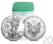 American Eagle 1 oz Silver 2020 Investment Sets 20 Pc.