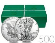 American Eagle 1 oz Silver 2020 Investment Sets 500 Pc.