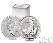Britannia 1 oz Silver 2020 Investment Sets 250 Pc.