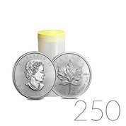 Canadian Maple Leaf 1 oz Silver 2020 Investment Sets 250 Pc.