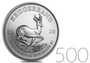 Krugerrand 1 oz Silver 2020 Investment Sets 500 Pc.