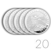 Noah's Ark 1 oz Silver 2021 Sets 20 Pcs.