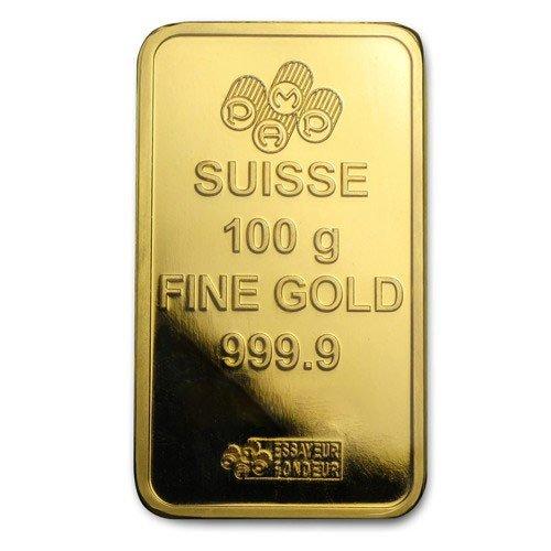 100 Gram Gold Bar Pamp Suisse Certipack Www Metalmarket Eu