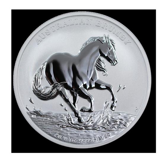 Australian Brumby 1 Oz Silver 2020 Www Metalmarket Eu