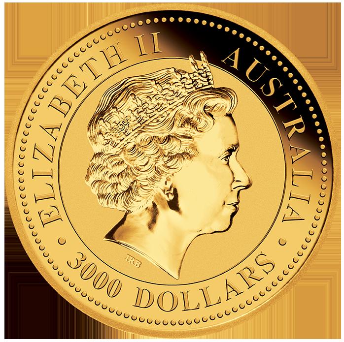 Australian Kangaroo 1000 Gram Gold 2018 Kangaroo 1kg Au
