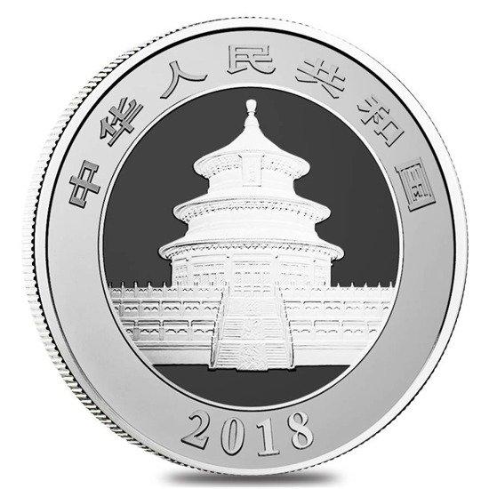 China Panda 150 Gram Silver 2018 Year Proof 24h Www