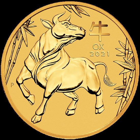 Lunar III: Year of the Ox 1/10 oz Gold 2021 - www ...