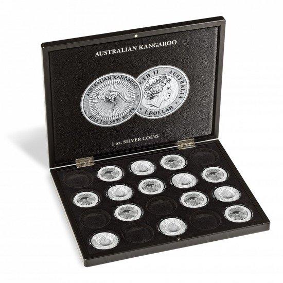 Presentation Cases For 20 Australian Kangaroo Silver Coins