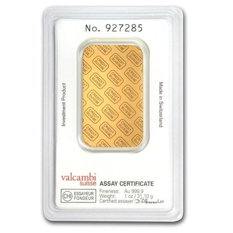 1 oz Gold Bar LBMA