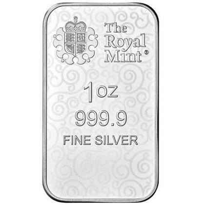 1 oz Silver Bar Una and the Lion