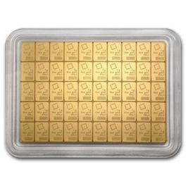 50 x 1 gram Gold Bar CombiBar