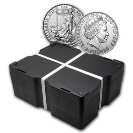 500-Coin Silver Britannia The Queen's Beasts Masterbox