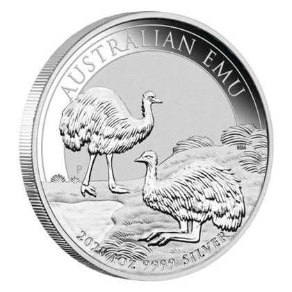 Aaustralian Emu 1 oz Silver 2020 Investment Sets 20 Pc.