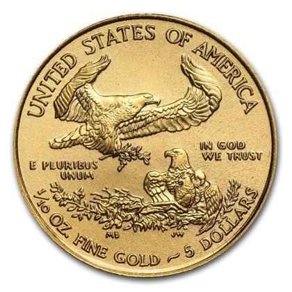 American Eagle 1/10 oz Gold