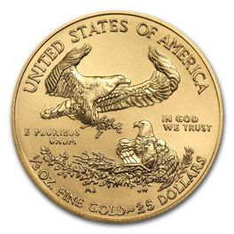 American Eagle 1/2 oz Gold 2018