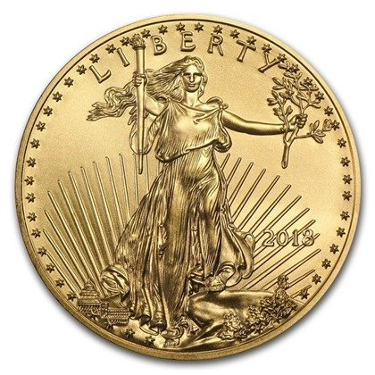 American Eagle 1 oz Gold 2018