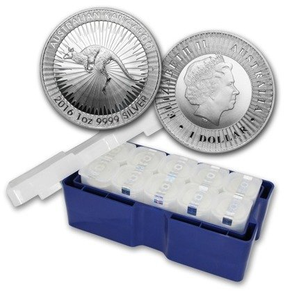 Australian Kangaroo 1 oz Silver Random Year circulating