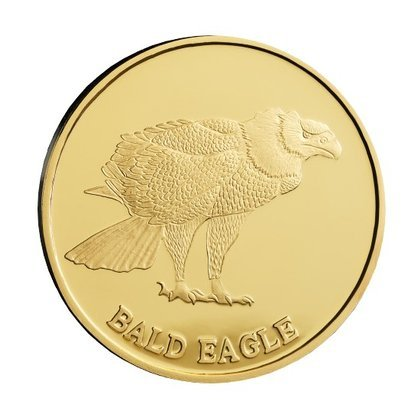 Bald eagle 31 g Gold 2015