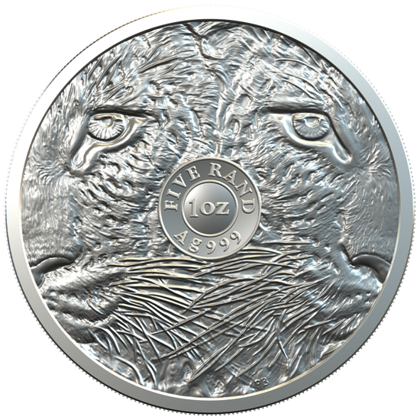 Big Five: Leopard 1 oz Silver 2020