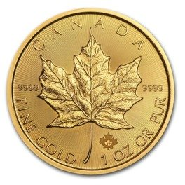 Canadian Maple Leaf 1 oz Gold 2018