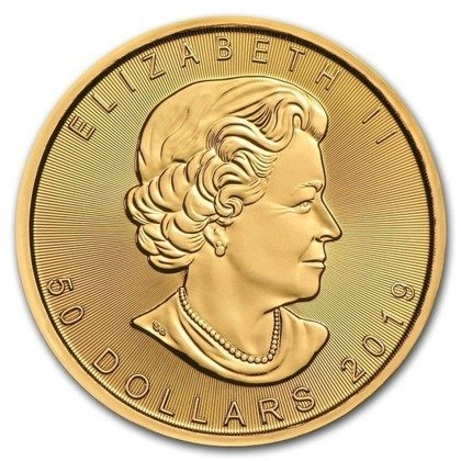 Canadian Maple Leaf 1 oz Gold Random Year