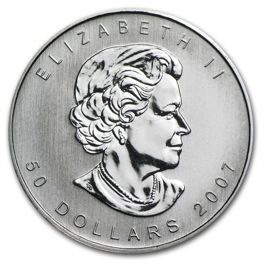Canadian Maple Leaf 1 oz Palladium