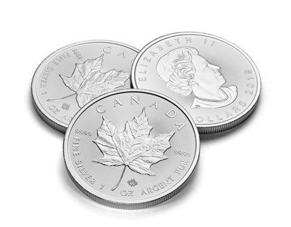 Canadian Maple Leaf 1 oz Silver 2019