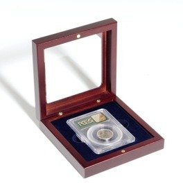 Coin box Volterra for Slabs (Mahogany)