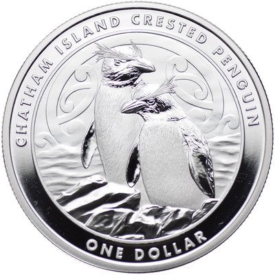 Crested Penguin 1 oz Silver 2020