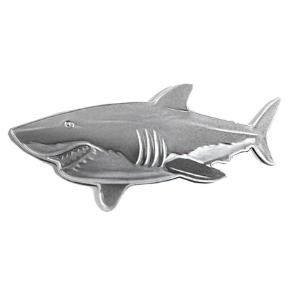 Hunters of the Deep: The Great White Shark 1 oz Silver 2019 Proof