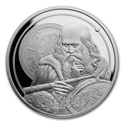 Icons of Inspiration - Galileo 1 oz Silver 2021