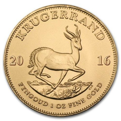 Krugerrand 1 oz Gold Random Year