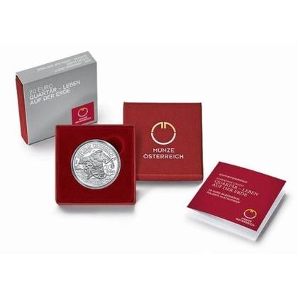 Life on the Ground: Quaternary 20 Euro 2015 Proof