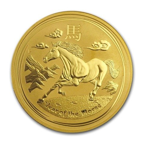 Lunar II: Year of the Horse 1 oz Gold