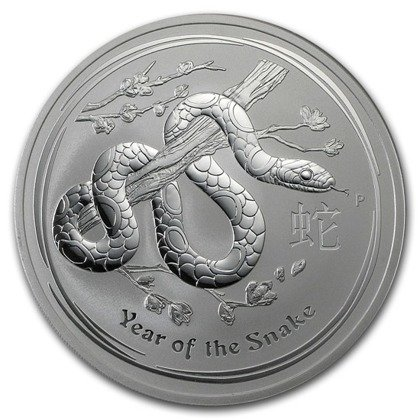 Lunar II: Year of the Snake 10 oz Silver