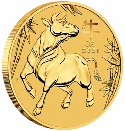 Lunar III: Year of the Ox 2 oz Gold 2021