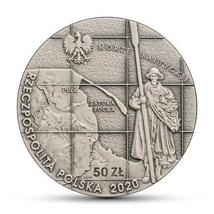 Poland's Wedding to the Sea Silver Coin
