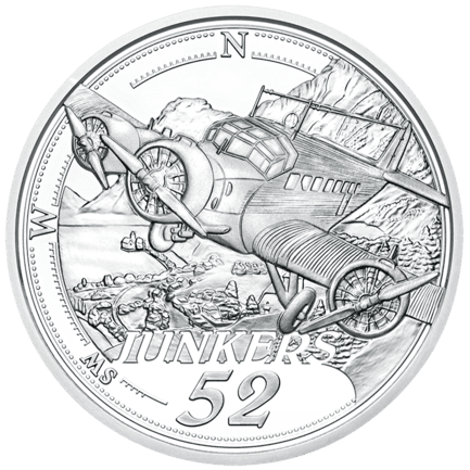 Reaching for the Sky:  The Advent of Powered Flight 20 Euro 2019 Proof